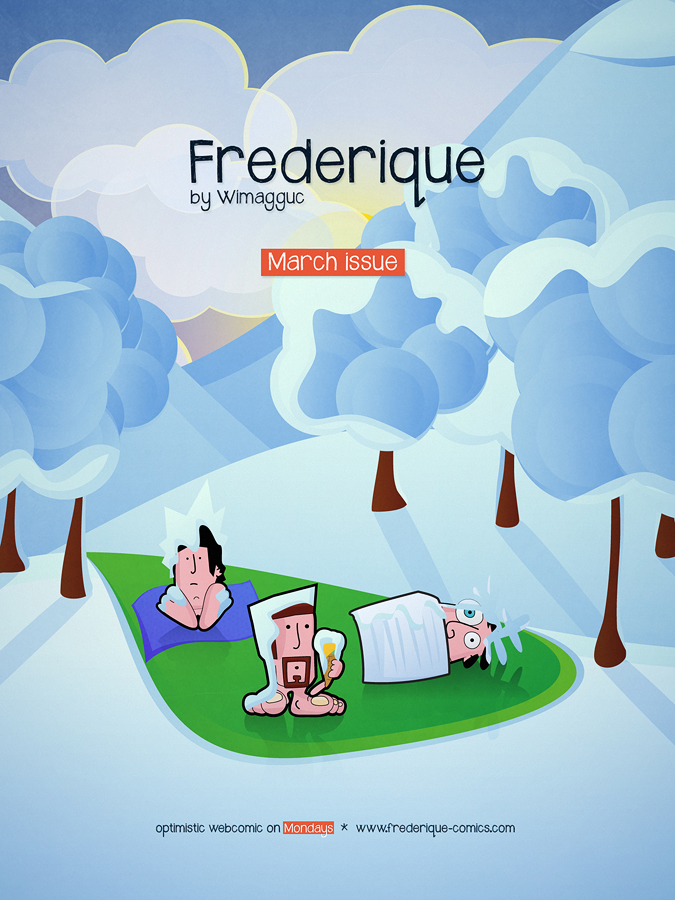 Frederique: March 2013 Cover