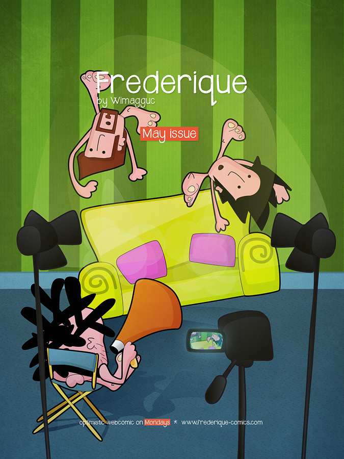 May Issue Cover for the geek comics, Frederique