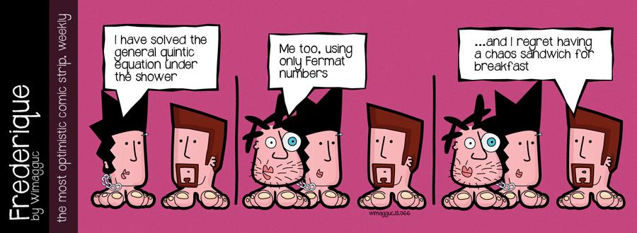 Making sense - geek comics by Frederique